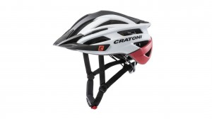 KASK CRATONI MTB AGRAVIC WHITE-BLACK-RED