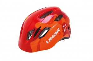 Kask rowerowy Limar Kid Pro S ghost red