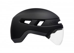 KASK LAZER - URBANIZE (black) + led