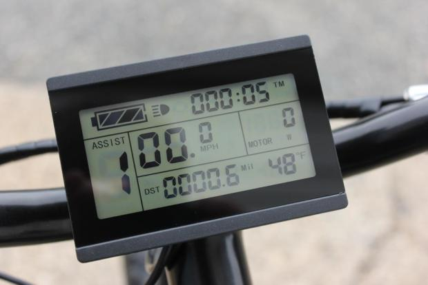 Display LCD 72V